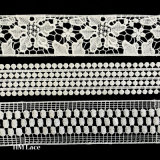 Square Crochet Lace Trim, Thin Lace Decoration Border, Trim Boarder L146