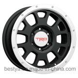 Trd, BBS, Method, Vossen Wholesale Replica Passenger Car SUV 4X4 Beadloack Aluminum Alloy Wheel, Bus Trailer ATV Steel Wheel for Toyota, Jeep, BMW, Nissan