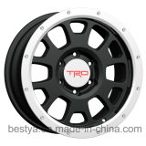 Trd, Vossen Wholesale Replica Passenger Car SUV 4X4 Beadloack Aluminum Alloy Wheel, Bus Trailer ATV Steel Wheel for Toyota, Jeep, BMW, Nissan