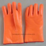 Winter Double PVC Dipped Glove