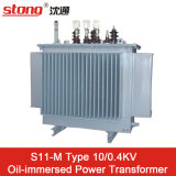 S11 Type 10kv Outdoor Oil Immersed Distribution Power Transformer