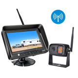 """Wireless Car Rearview Reversing Camera Monitor System with 7"""" Monitor and CCD Waterproof Camera 4CH"""