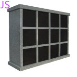 Shanxi Black Granite Niches Columbarium for Memorial Cremation