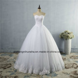 Crystal Beads Wedding Dress for Brides Formal Sweetheart