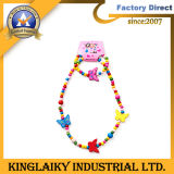 Promotional Gifts Fashion Jewelry Set Wooden Bead Children's Necklace