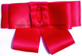 Red Satin Polyester Ribbon Flower Ribbon Bow for Decoration