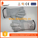 Wholesale Construction Work Cow Leather Safety Gloves