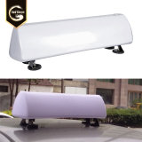 Advertising Magnetic Taxi Roof Light Box Waterproof Car Top Acrylic Light Box