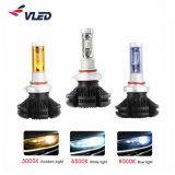 Super Bright LED Headlight X3 H3 H11h7 LED Bulbs Car LED Headlight H4 LED Fanless Auto Lighting System