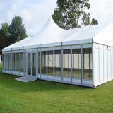Big Large Luxury Clear Span Aluminum Frame Marquee Tent for Party Wedding Event with Glass