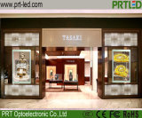 High Transparency LED Video Wall for Shop Window (garment, jewelry store)