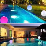 Auto Light up Round Inflatable LED Solar Light
