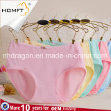 Wholesale Modal Solid Color Ladies Underwear Young Girls Triangle Panties