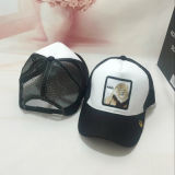 Custom Own Embroidery Baseball Mesh Outdoor Cap with Metal Buckle