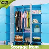 145X37X162cm Fashion Kids Cabinet Bedroom Furniture Plastic Wardrobe