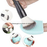Cleaning Silicone Glove Brush Egg Makeup Brush Washing Scrubber Board Cosmetic Clean Tools Esg10196