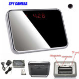 Table Alarm Clock Mini Video Recorder Camera Hidden Nanny Cam DVR Motion Detection