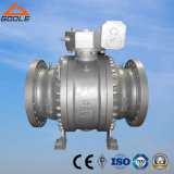 Three Pieces Cast Steel Trunnion Mounted Ball Valve (Q347F)