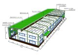 Chinese Low Price Construction Steel Structure for Warehouse/Shed/Workshop/Hotel/Office/Garage
