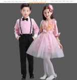 OEM Costumes Custom Boys + Girls Princess Dress Performance Costume Wedding Show