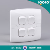 4 Gang Wall Socket and Switch