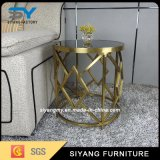 Nigeria Stainless Steel Wedding Banquet Table Side Table