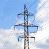 Electric Power Transmission Galvanization Angle Steel Dead End Lattice Tower (Terminal Tower)