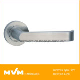 High Quality Stainless Steel Door Handle on Rose (S1014) with Ce