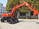 Bd-80 Wheel Excavators Construction Machine Haeavy Equipment From China