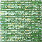 Green Water Ripples Glass Marble Decoration