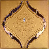 Wholesale Customized Carving Upset PU Leather Wall Panel