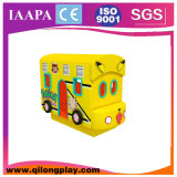 Rotating Bus Electric Soft Play for Sales (QL--067)
