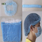 Mob Cap Non-Woven Clip Disposable Medical Products Medical Supply