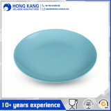 Custom Design Full Size Unicolor Melamine Dinnerware Lunch Plate