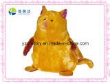 Yellow Big Owl Plush Stuffed Animal Toy