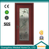 Customize Solid Wooden Interior Patio Door with Glasses