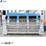 Fully Automatic Industrial Laundry Machinery Steam Iron Bed Sheet Washing Feeder Machine