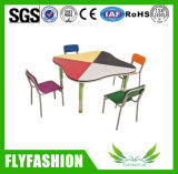 Hot Sale Daycare Furniture Kid's Table and Chair Set (SF-38C)