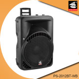 12 Inch Big Power Wireless System Bluetooth Speaker with Trolley PS-2012bt-Wb