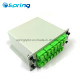 1*16 Lgx Optical Fiber PLC Splitter with Sc/APC Conncector