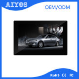 10 Inch Wall Mounted 1280*800 Pixels LCD Advertising Player