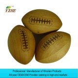 Rugby Gift Made by Solid Wood American Football Craft