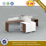 White Painting MDF School Executive Table Fashion Office Furniture (HX-8NE186)