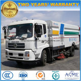 6 Wheels Dongfeng 8m3 Dry Vacuum Road Sweeper Truck
