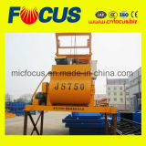 Js750 750L Twin Shaft Concrete Mixer with Low Price
