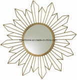 Global Views Radiance Contemporary Gold Sunburst Wall Mirror Wall Decor
