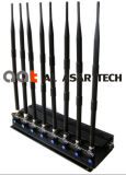 8CH Indoor Power Adjustable Mobile Signal Jammer