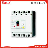 MCCB with Residual Current Breaker (KNM1L 100A 30mA-100mA-300mA) 4p