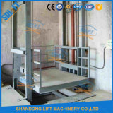 Lead Rail Lifting Platform / Hydraulic Cargo Lift Equipment