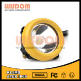 Wisdom Kl5ms Mining Safety Headlamp with Cable, Water-Proof Helmet Lamp